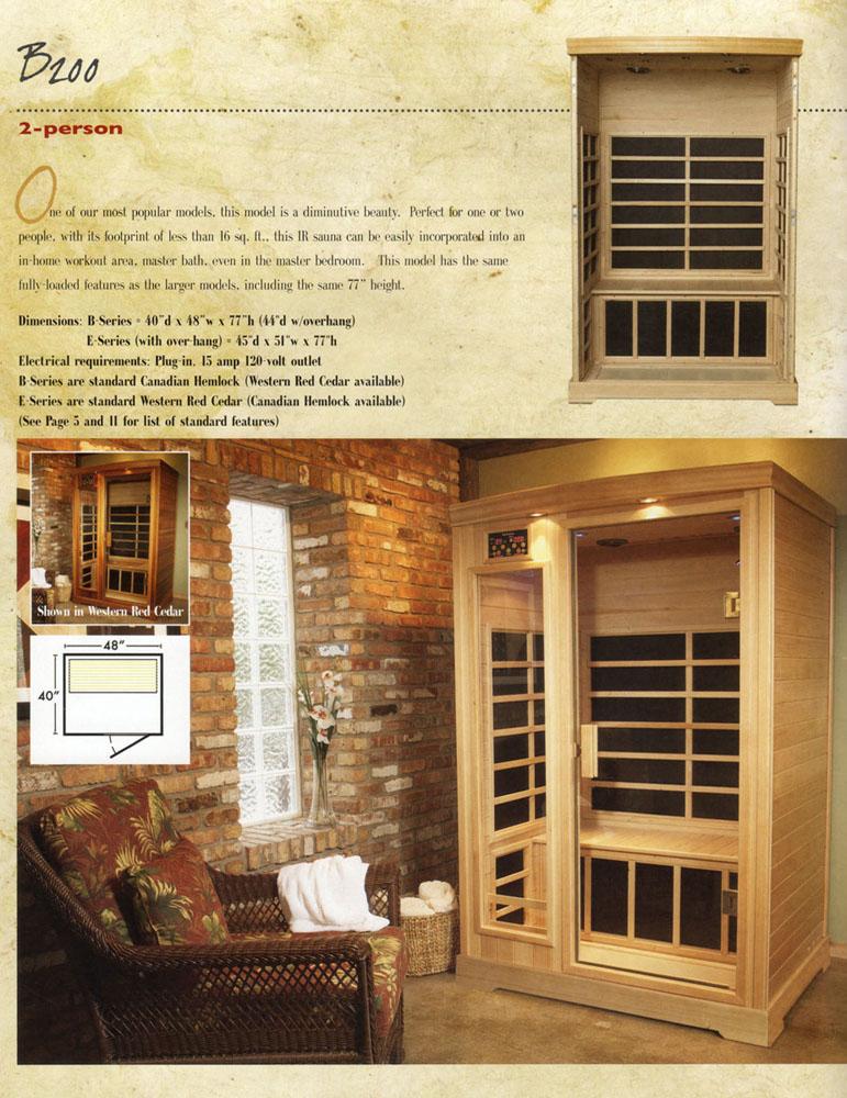 Infrared Heat Therapy Room Saunatec S Infra Sauna