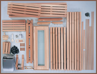 Custom Cut Sauna Kit