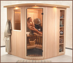 European Alder Passport Series Sauna