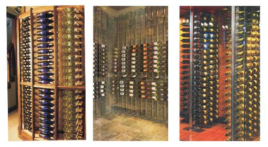 wall mounted wine rack plans