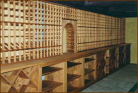 Wood/Metal Wine Rack Plans for Custom Wine Cellars