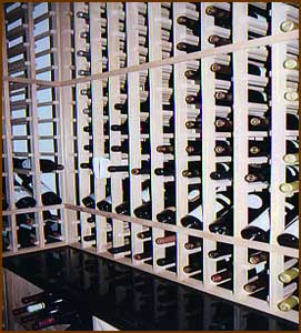 Wood Metal Wine Rack Plans For Custom Wine Cellars